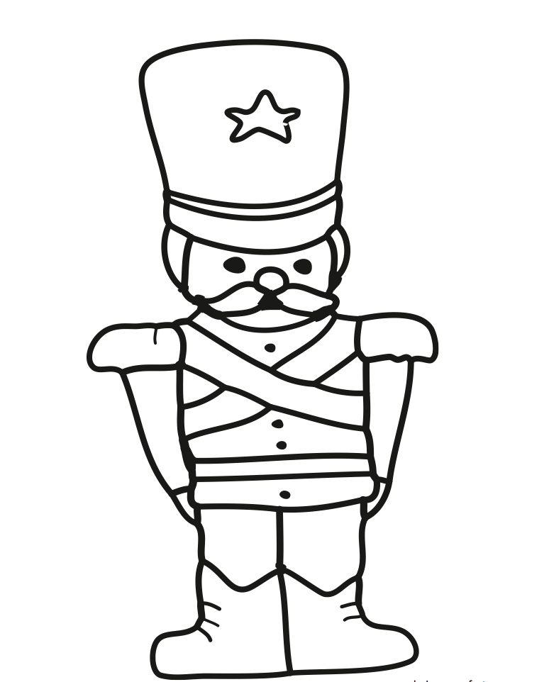coloring pages of toy soldier - photo#9